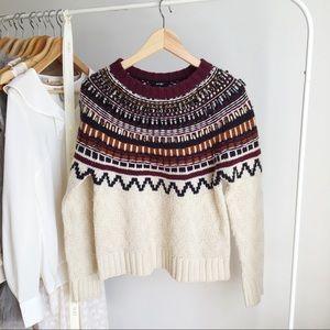 Lord & Taylor Wool Gemstones Sweater